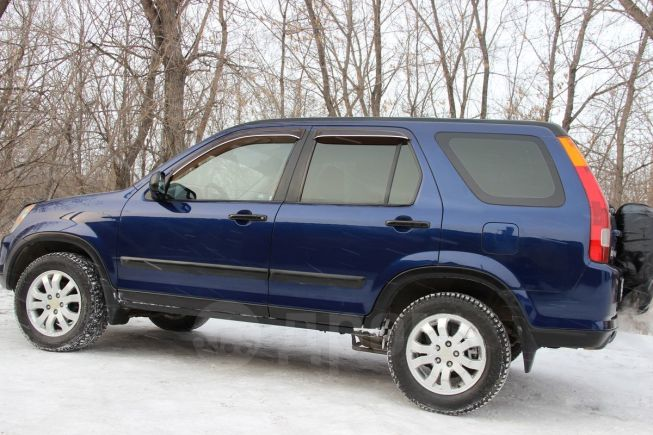 Honda CR-V, 2002 год, 428 000 руб.