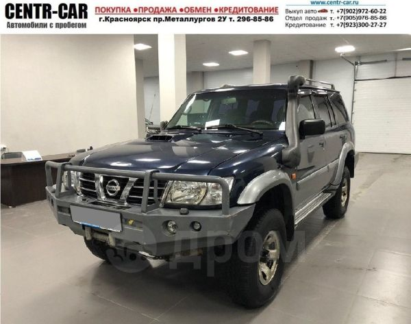 Nissan Patrol, 2003 год, 655 000 руб.