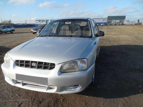 Hyundai Accent, 2002 год, 130 000 руб.