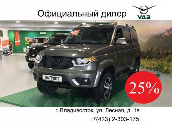 УАЗ Патриот, 2019 год, 1 486 800 руб.