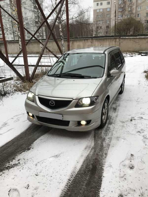 Mazda MPV, 2003 год, 225 000 руб.