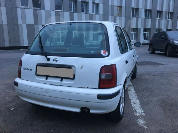 Nissan March, 1997 год, 87 000 руб.