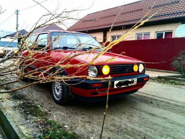 Volkswagen Golf, 1988 год, 48 000 руб.