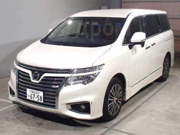 Nissan Elgrand, 2016 год, 1 400 000 руб.