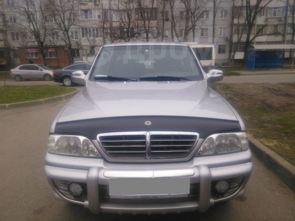 SsangYong Musso Sports, 2005 год, 350 000 руб.