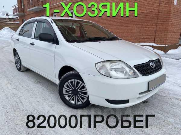 Toyota Corolla, 2002 год, 333 000 руб.