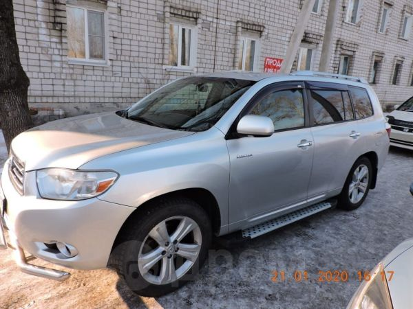 Toyota Highlander, 2007 год, 1 050 000 руб.