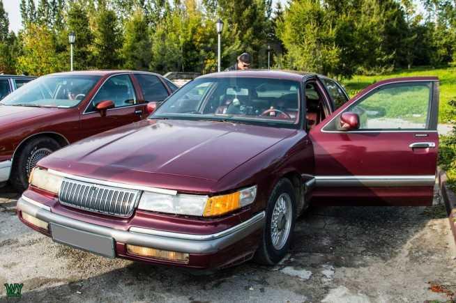 Mercury Grand Marquis, 1992 год, 120 000 руб.