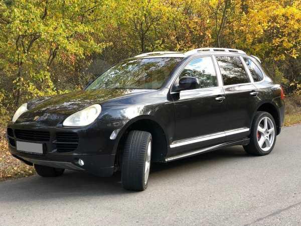 Porsche Cayenne, 2005 год, 640 000 руб.
