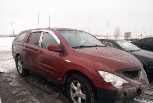 SsangYong Actyon Sports, 2008 год, 250 000 руб.