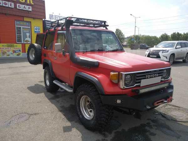 Toyota Land Cruiser, 1986 год, 650 000 руб.
