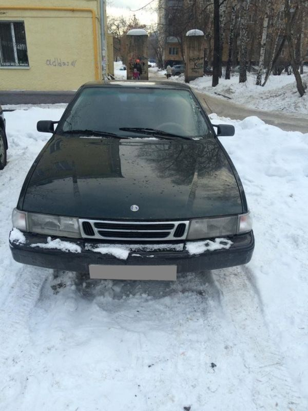 Saab 9000, 1997 год, 105 000 руб.