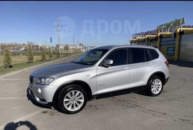 BMW X3, 2013 год, 1 050 000 руб.