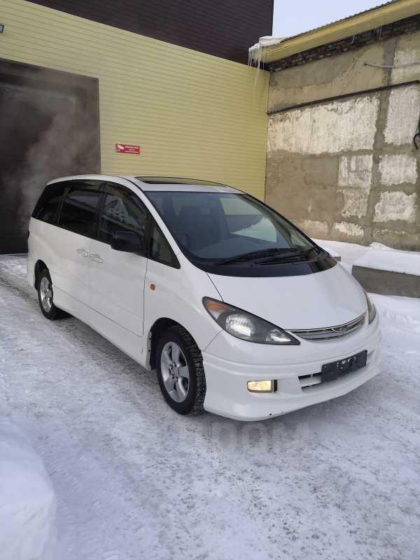 Toyota Estima, 2002 год, 605 000 руб.