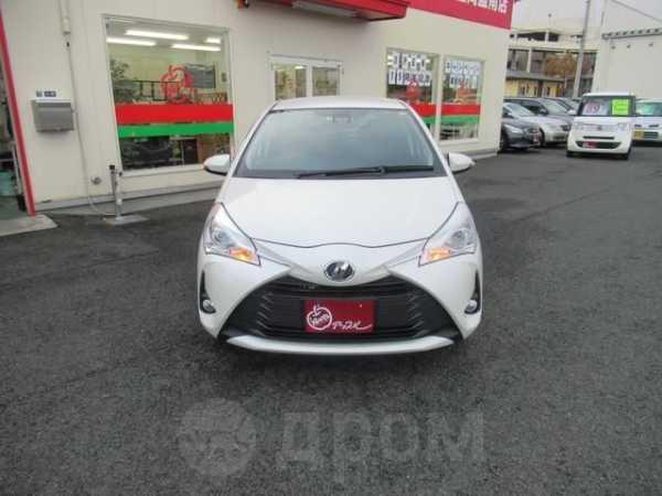 Toyota Vitz, 2017 год, 520 000 руб.