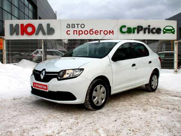 Renault Logan, 2016 год, 467 000 руб.
