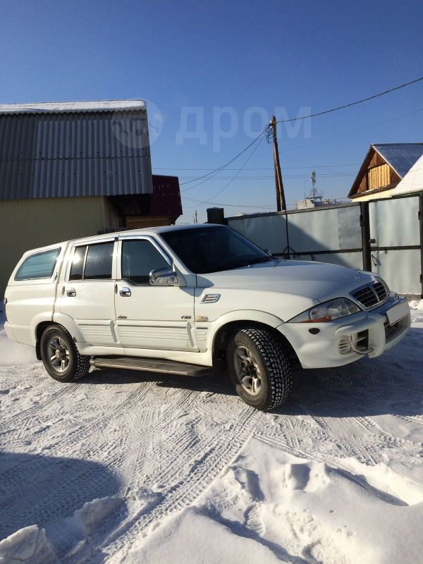 SsangYong Musso Sports, 2005 год, 370 000 руб.