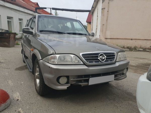 SsangYong Musso, 2001 год, 300 000 руб.
