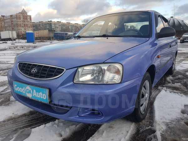Hyundai Accent, 2003 год, 139 000 руб.