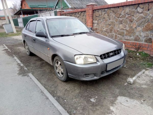 Hyundai Accent, 2001 год, 150 000 руб.
