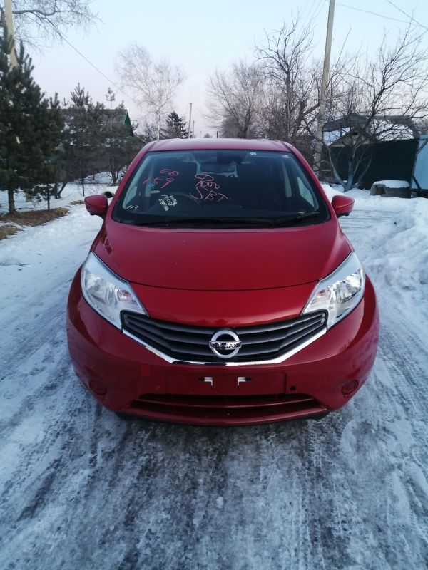 Nissan Note, 2016 год, 530 000 руб.