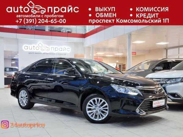 Toyota Camry, 2015 год, 1 255 000 руб.