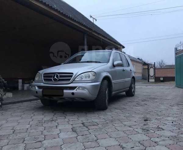 Mercedes-Benz M-Class, 2002 год, 395 000 руб.