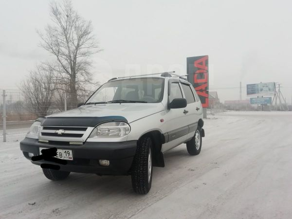 Chevrolet Niva, 2005 год, 243 000 руб.