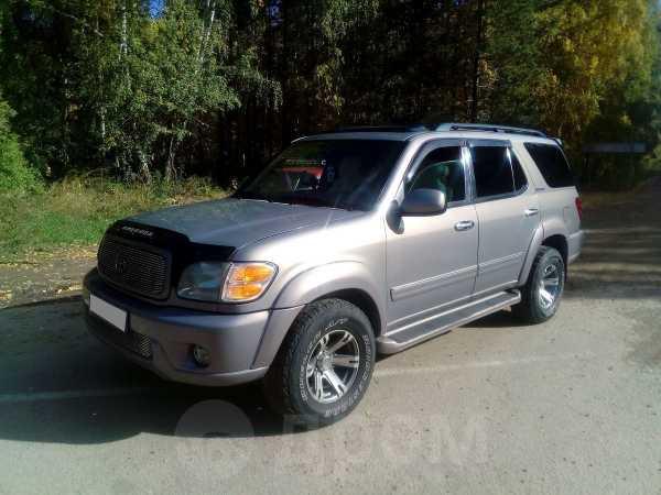 Toyota Sequoia, 2002 год, 900 000 руб.