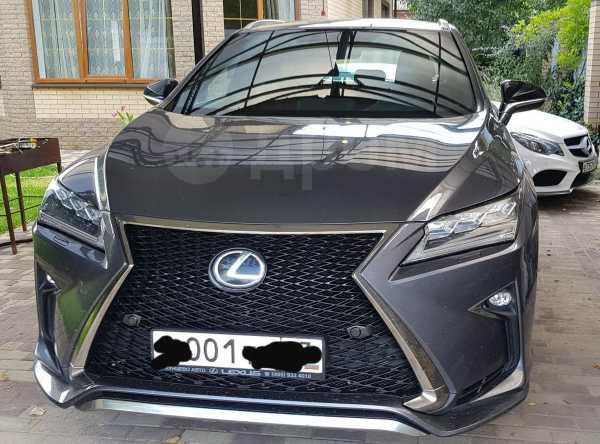 Lexus RX200t, 2017 год, 2 780 000 руб.