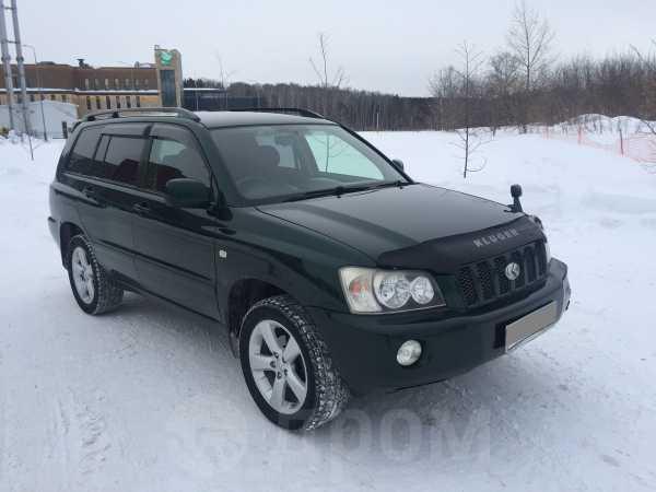 Toyota Kluger V, 2001 год, 578 000 руб.