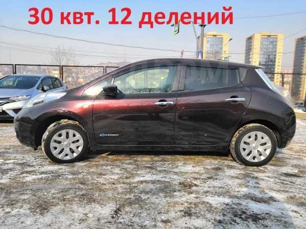 Nissan Leaf, 2016 год, 1 000 000 руб.