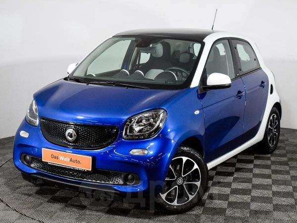 Smart Forfour, 2017 год, 668 000 руб.