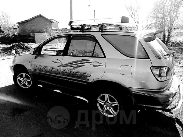 Toyota Harrier, 2001 год, 615 000 руб.