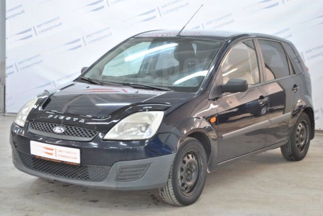 Ford Fiesta, 2007 год, 219 000 руб.