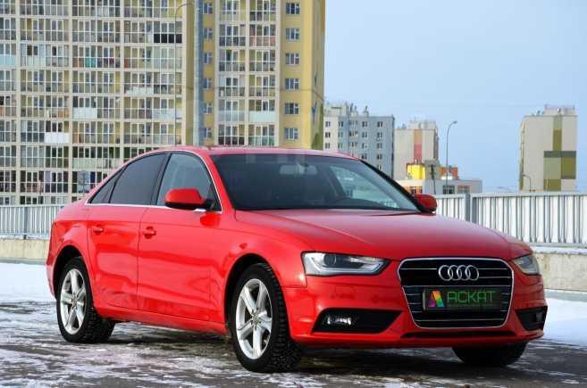 Audi A4, 2013 год, 595 000 руб.