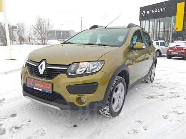 Renault Sandero Stepway, 2015 год, 569 000 руб.