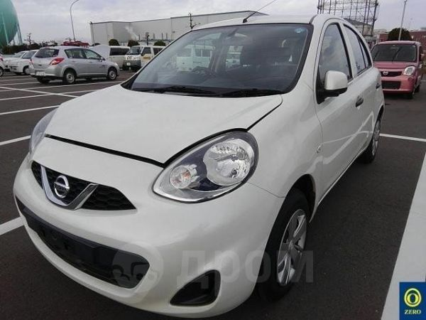 Nissan March, 2016 год, 460 000 руб.