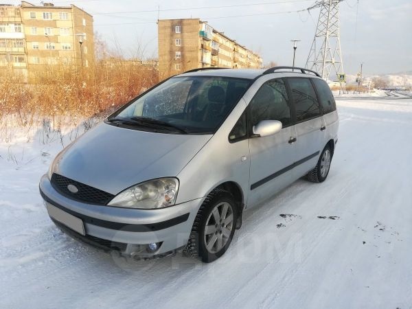 Ford Galaxy, 2002 год, 240 000 руб.