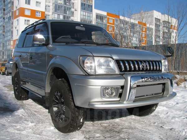 Toyota Land Cruiser Prado, 2001 год, 670 000 руб.