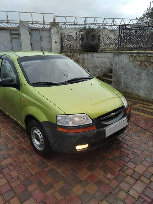 Chevrolet Aveo, 2004 год, 210 000 руб.