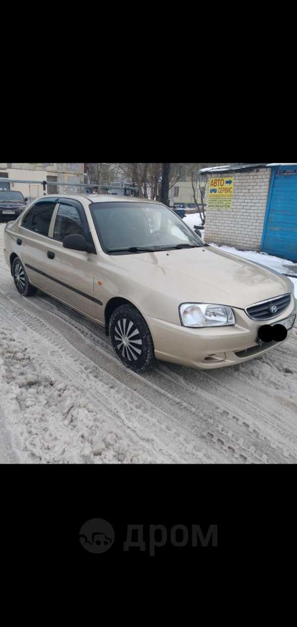 Hyundai Accent, 2006 год, 186 000 руб.