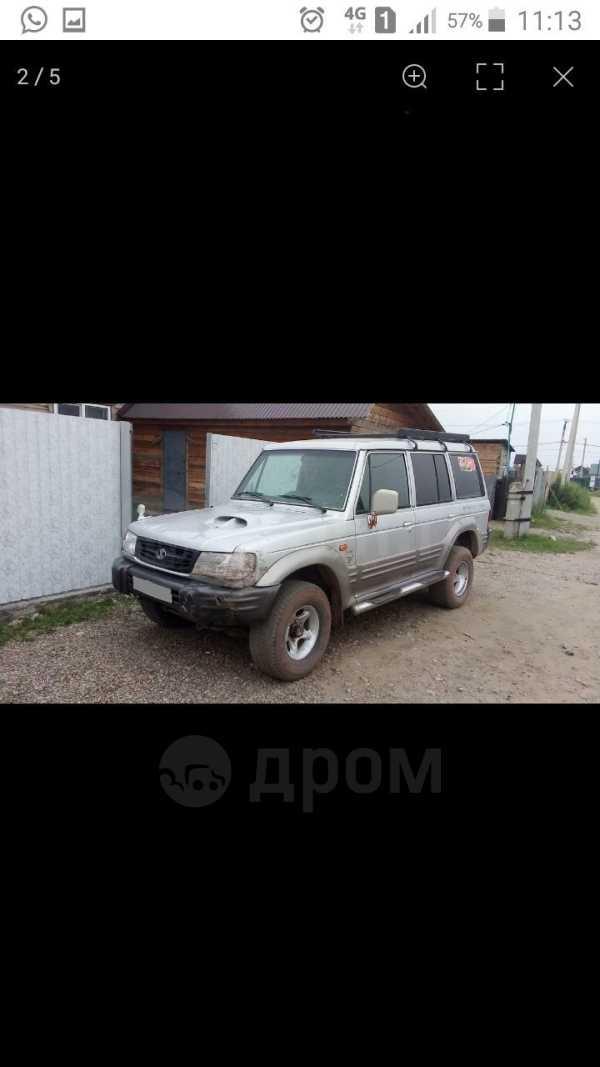 Hyundai Galloper, 2001 год, 200 000 руб.