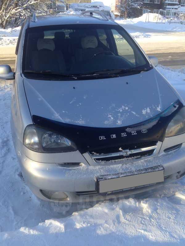 Chevrolet Rezzo, 2005 год, 165 000 руб.