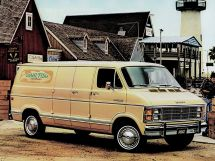 Dodge Ram Van 1978, цельнометаллический фургон, 1 поколение