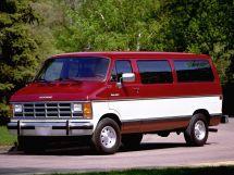 Dodge Ram Van рестайлинг 1986, автобус, 1 поколение
