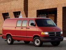 Dodge Ram Van 1993, цельнометаллический фургон, 2 поколение