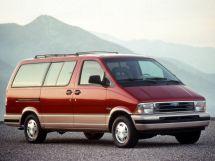 Ford Aerostar рестайлинг 1992, минивэн, 1 поколение