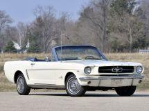 Ford Mustang 1964, открытый кузов, 1 поколение