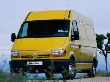 Renault Master 1998, цельнометаллический фургон, 2 поколение, FD